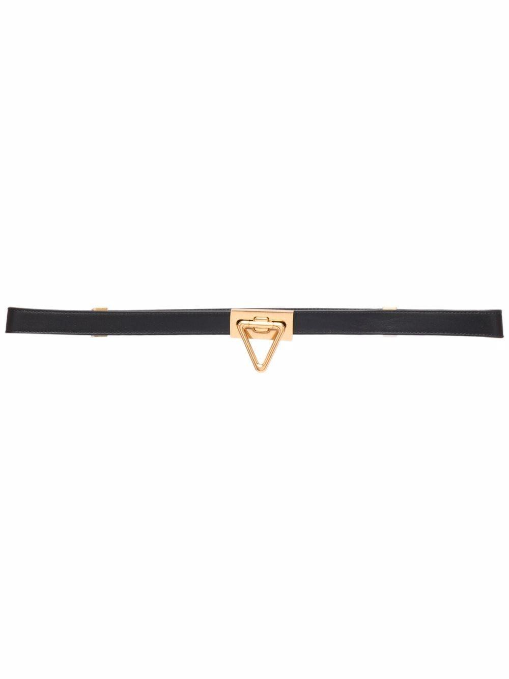Picture of Bottega Veneta | Triangle Buckle Belt