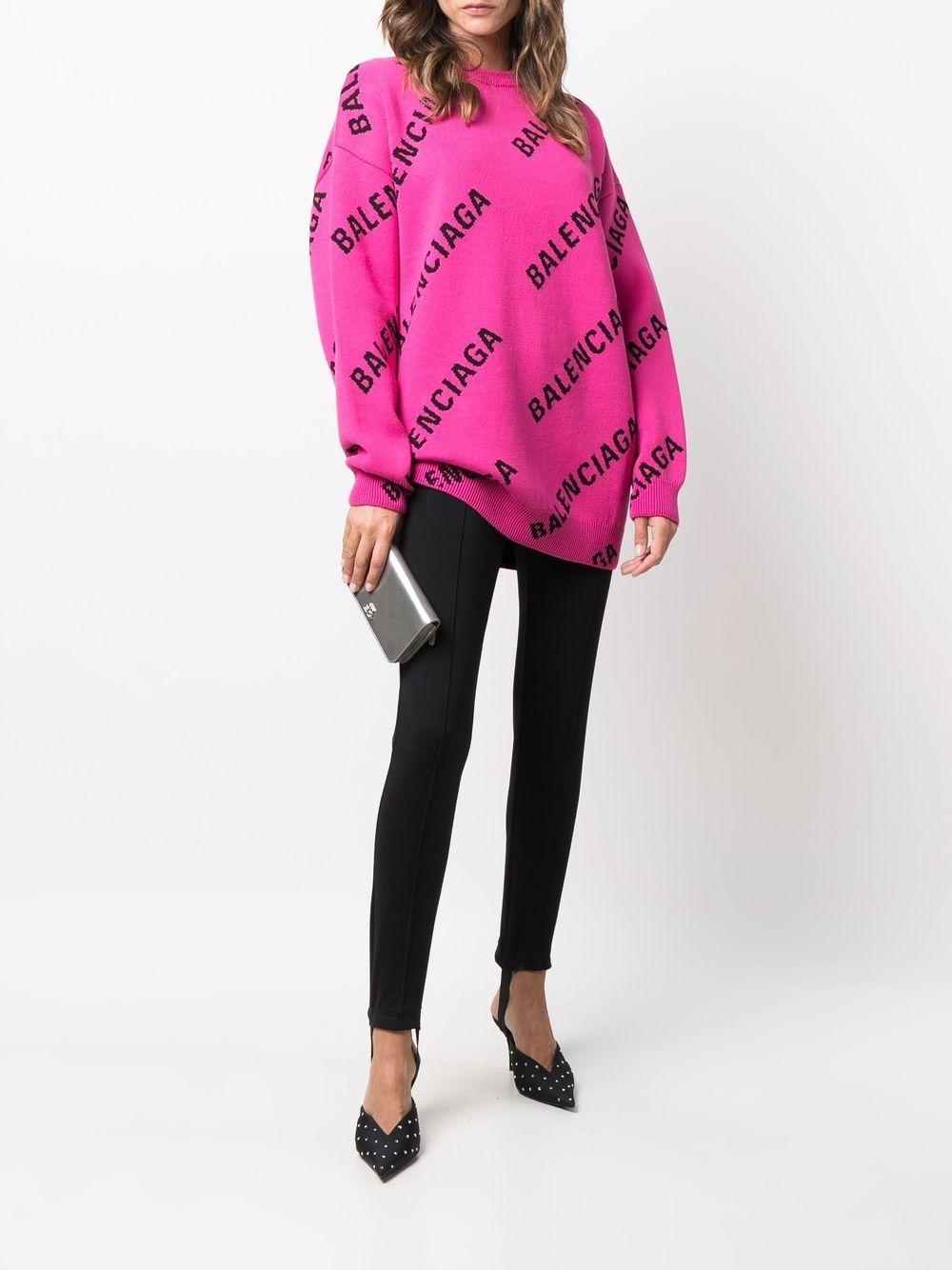 Picture of Balenciaga | Logo-Print Sweatshirt