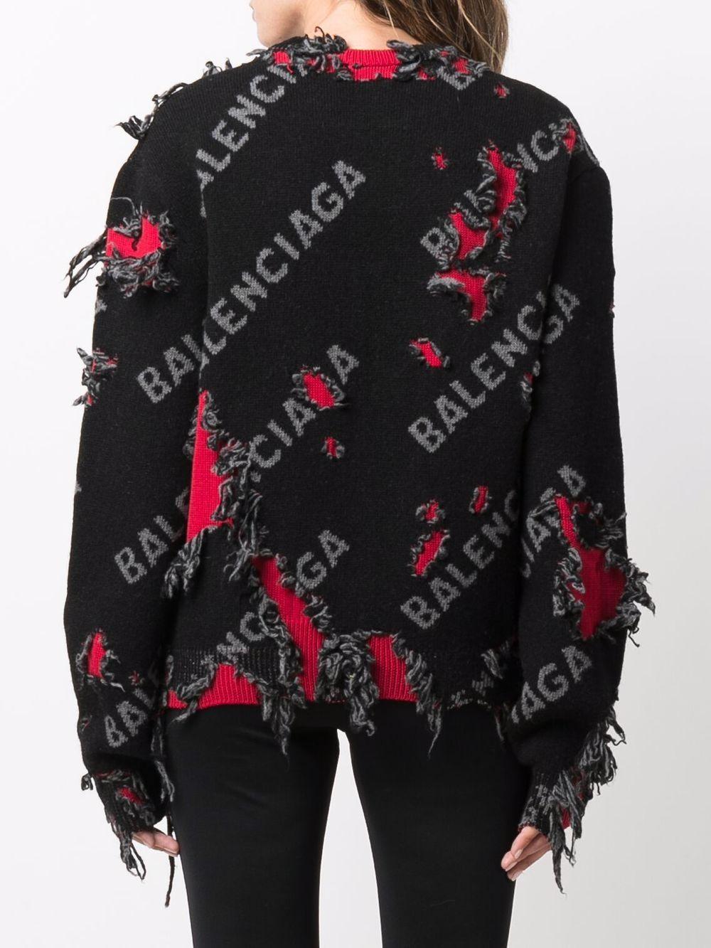 Picture of Balenciaga | Small Crewneck Sweater