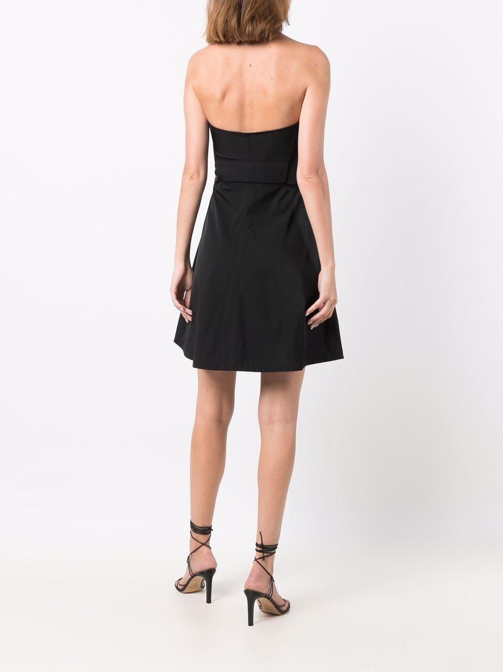 Picture of Bottega Veneta   Strapless Belted Mini Dress