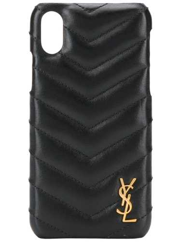 Picture of Saint Laurent | Quilted Effect Iphone Case