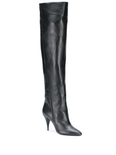Picture of Saint Laurent | Kiki 110Mm Knee-Length Boots