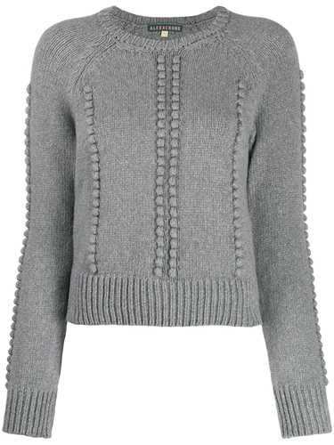 Picture of Alexa Chung | Cropped Bobble Knit Jumper