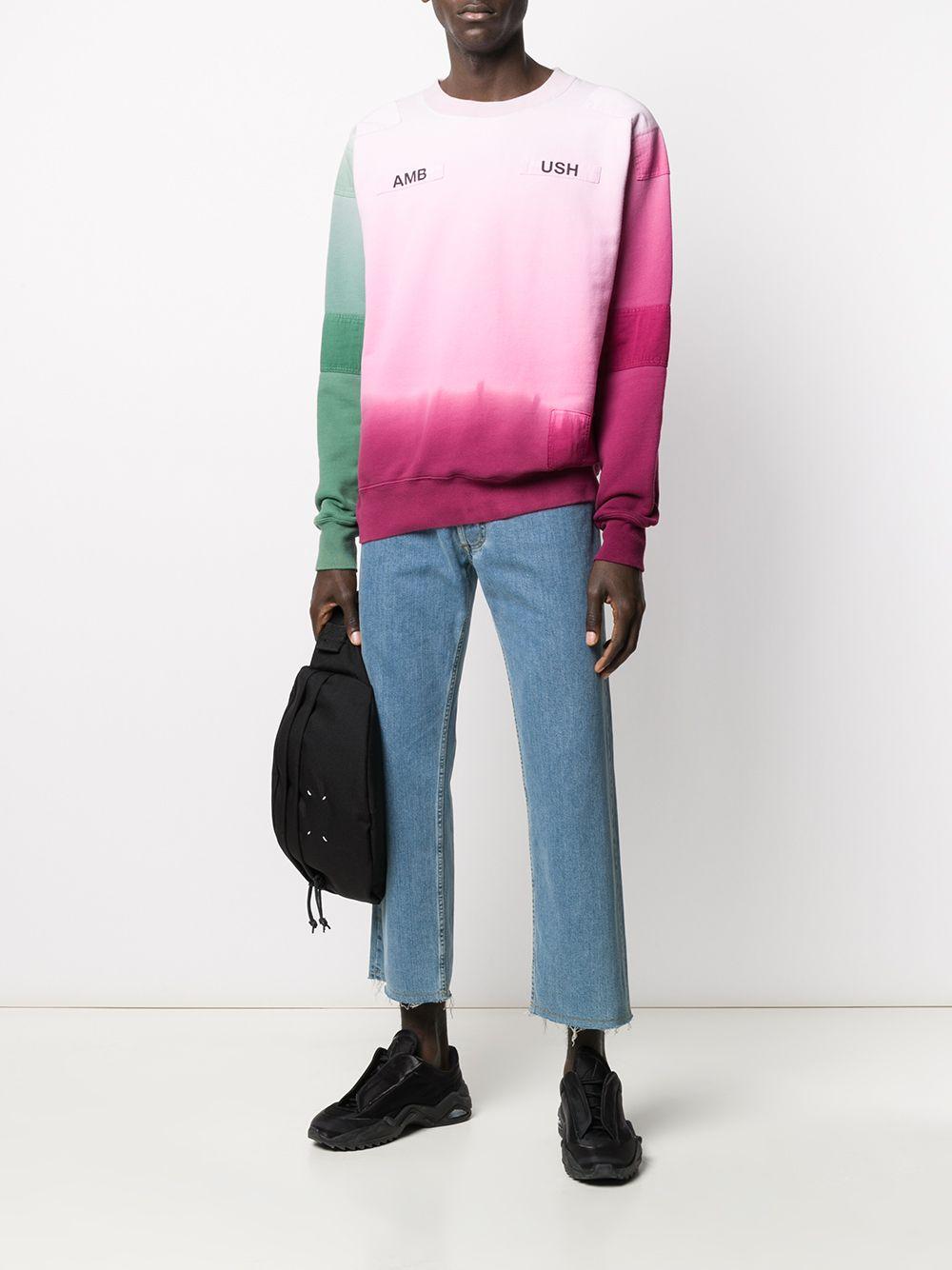 Picture of Ambush   Tie-Dye Pattern Sweatshirt