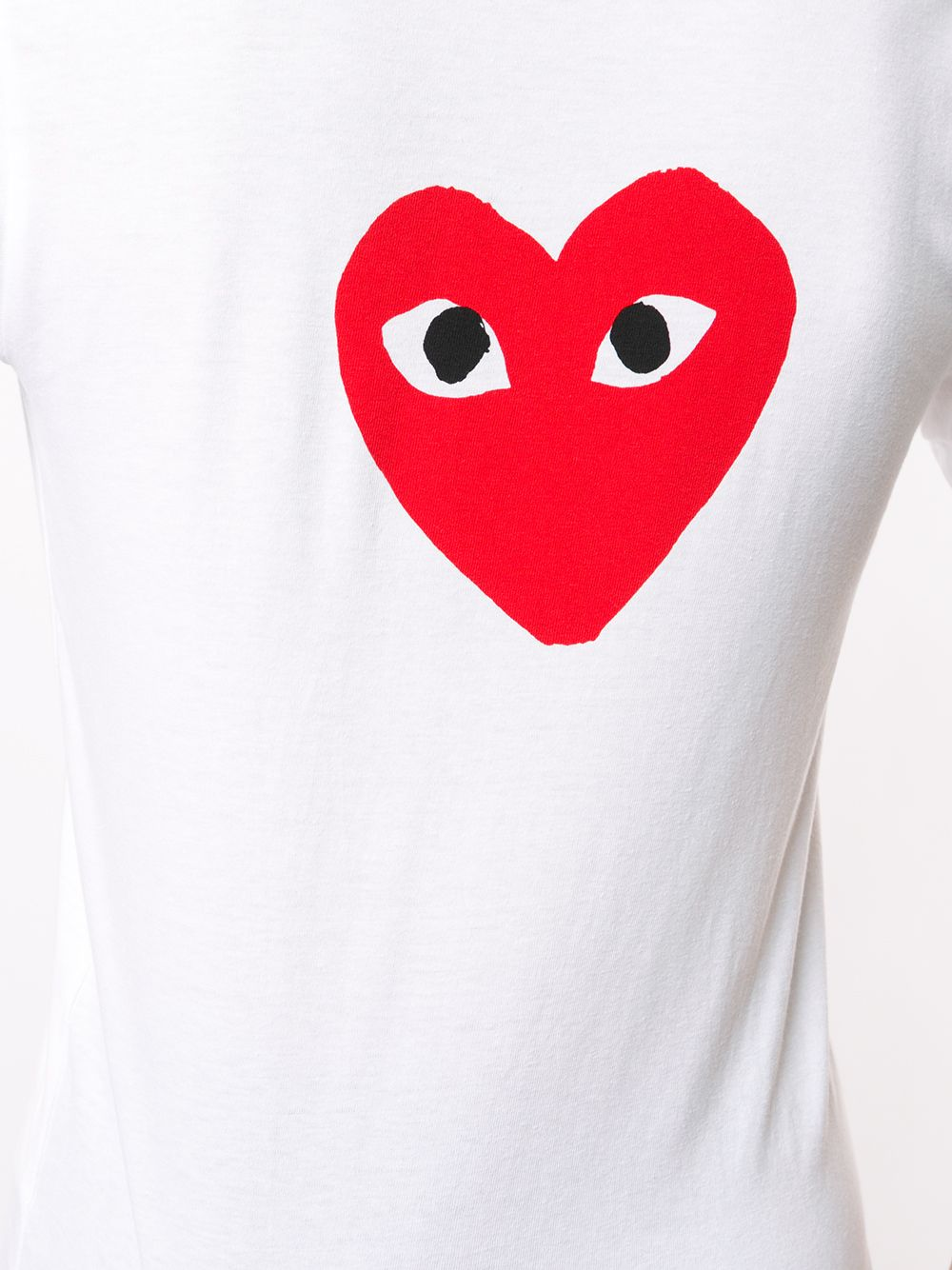 Picture of Comme Play | Two Heart T-Shirt