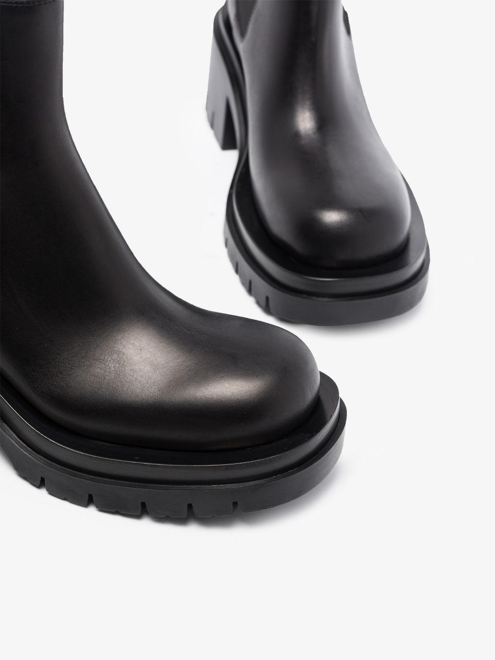 Picture of Bottega Veneta   Lug Ankle Boots