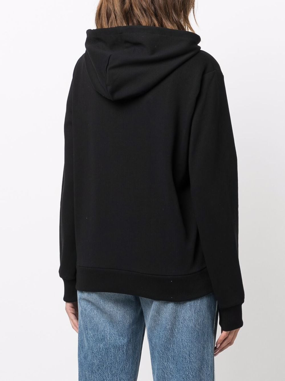 Picture of A.P.C.   Logo-Print Cotton Hoodie