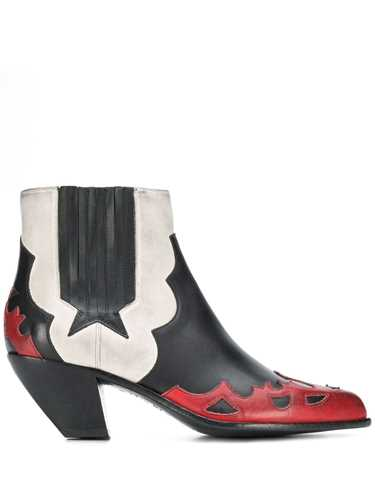 Picture of Golden Goose Deluxe Brand | Sunset Flowers Ankle Boots