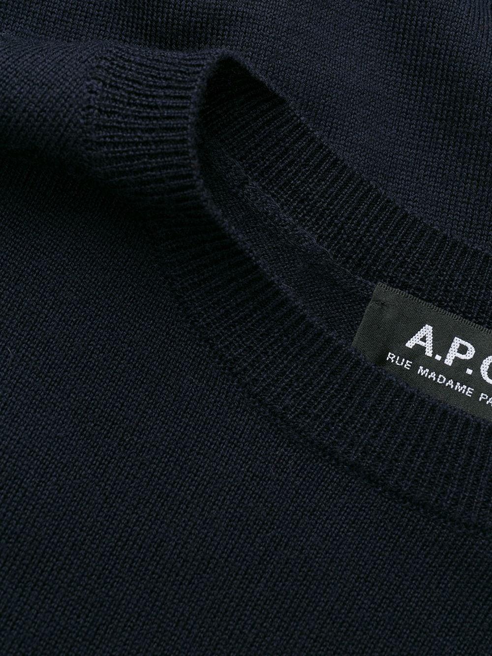 Picture of A.P.C.   Fine Knit Jumper