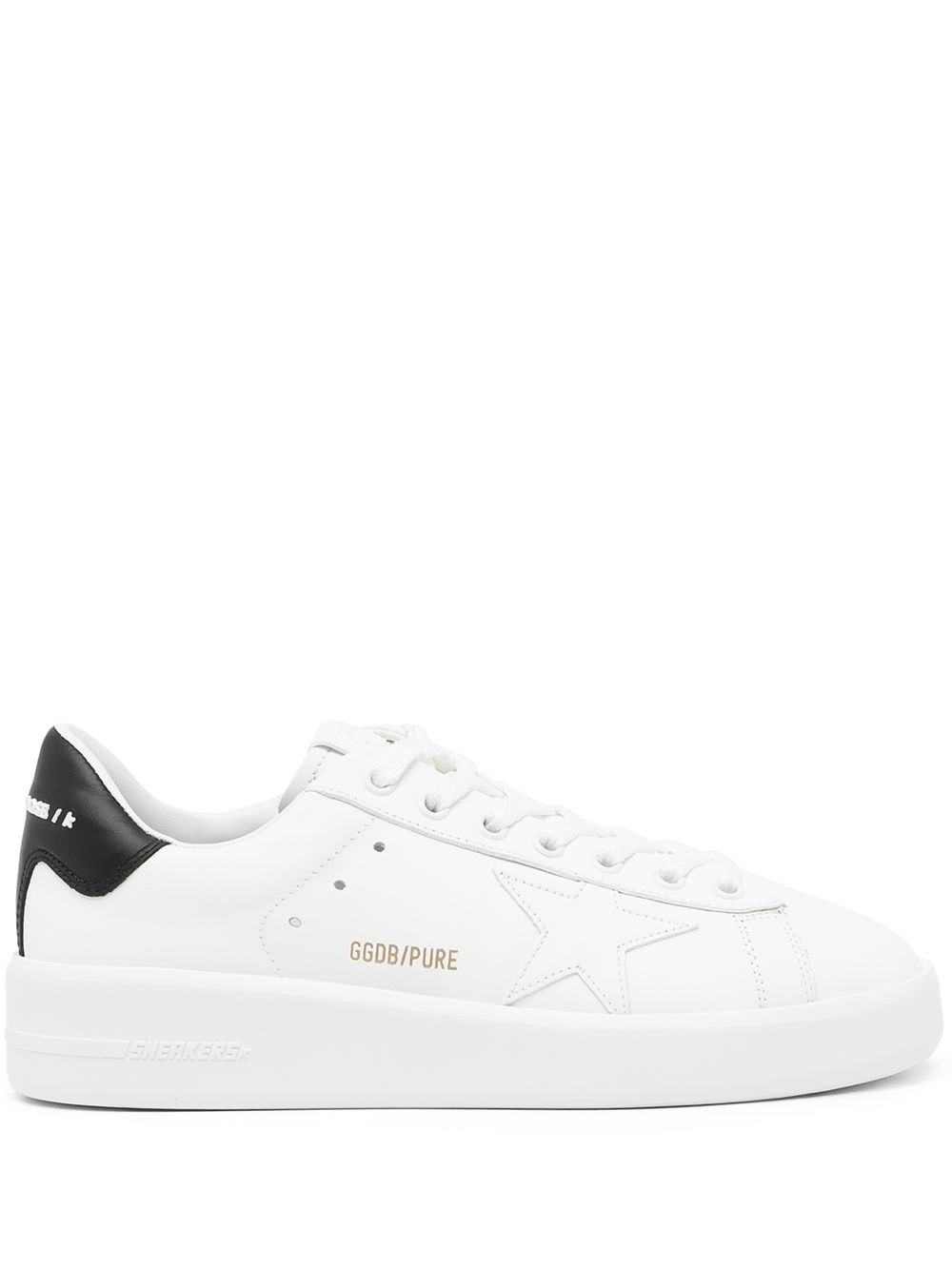 Picture of Golden Goose Deluxe Brand | Pure Star Low-Top Sneakers