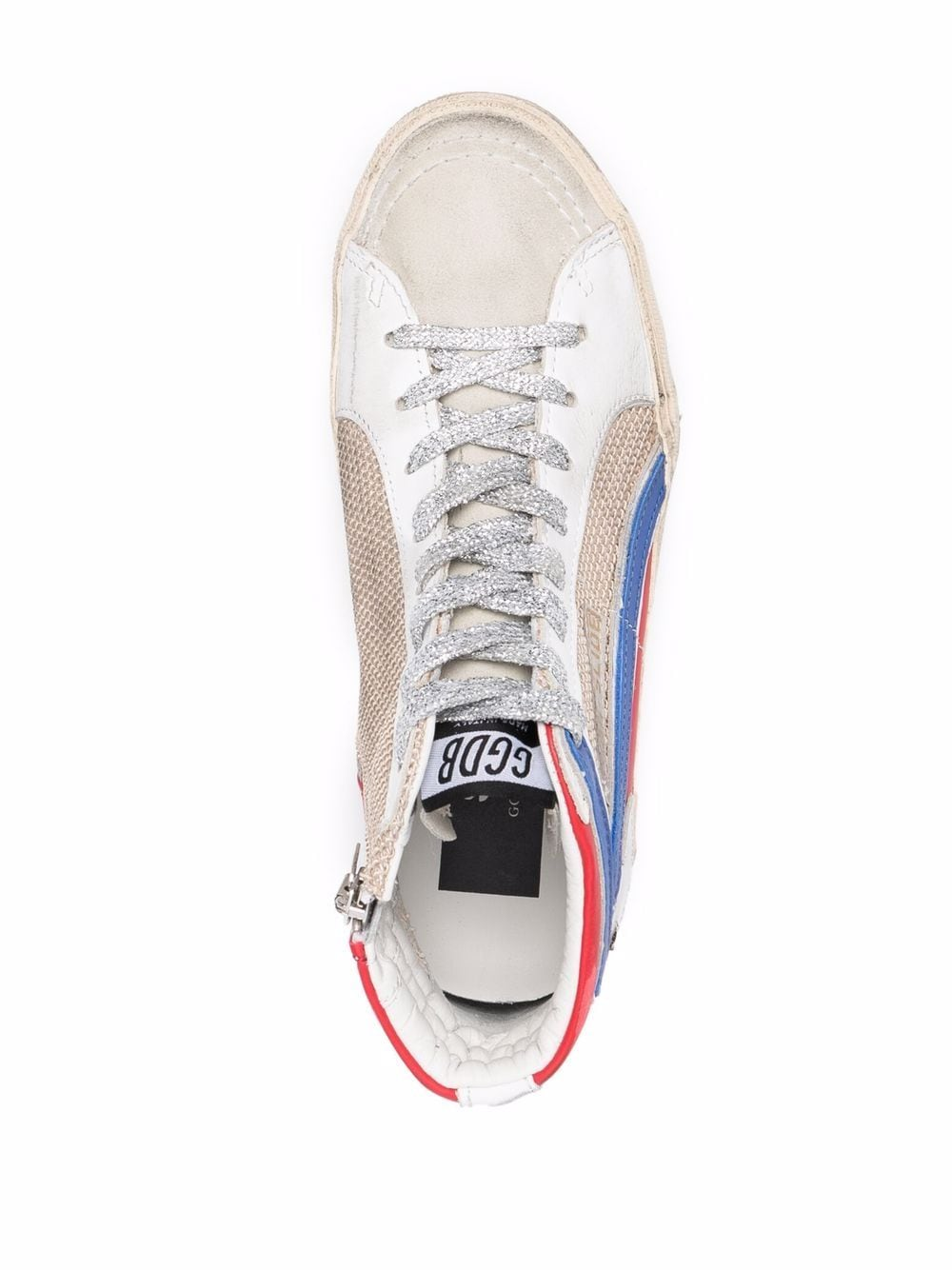 Picture of Golden Goose Deluxe Brand | Multi-Panel Lace-Up Sneakers