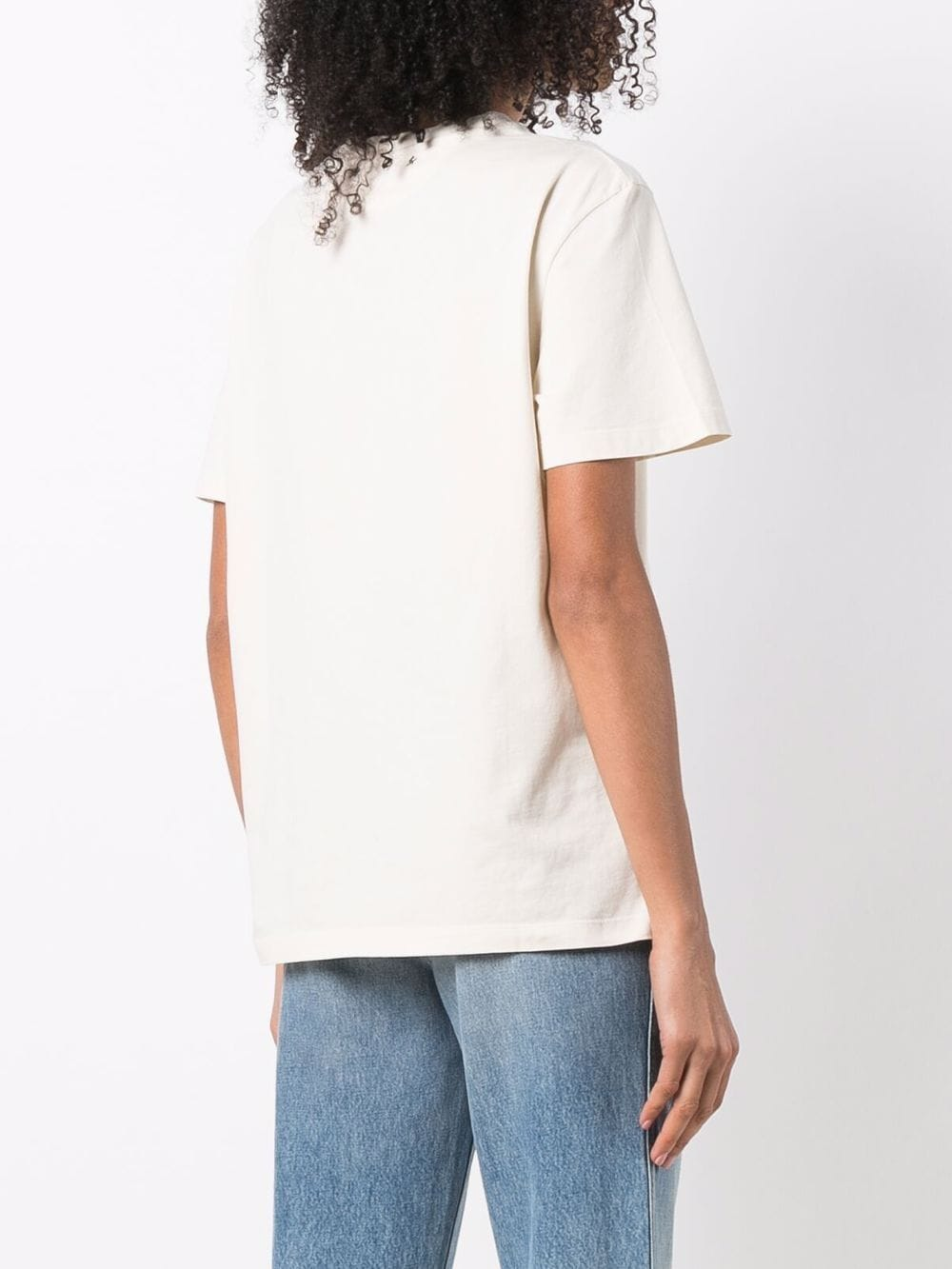 Picture of Golden Goose Deluxe Brand   Logo-Print T-Shirt