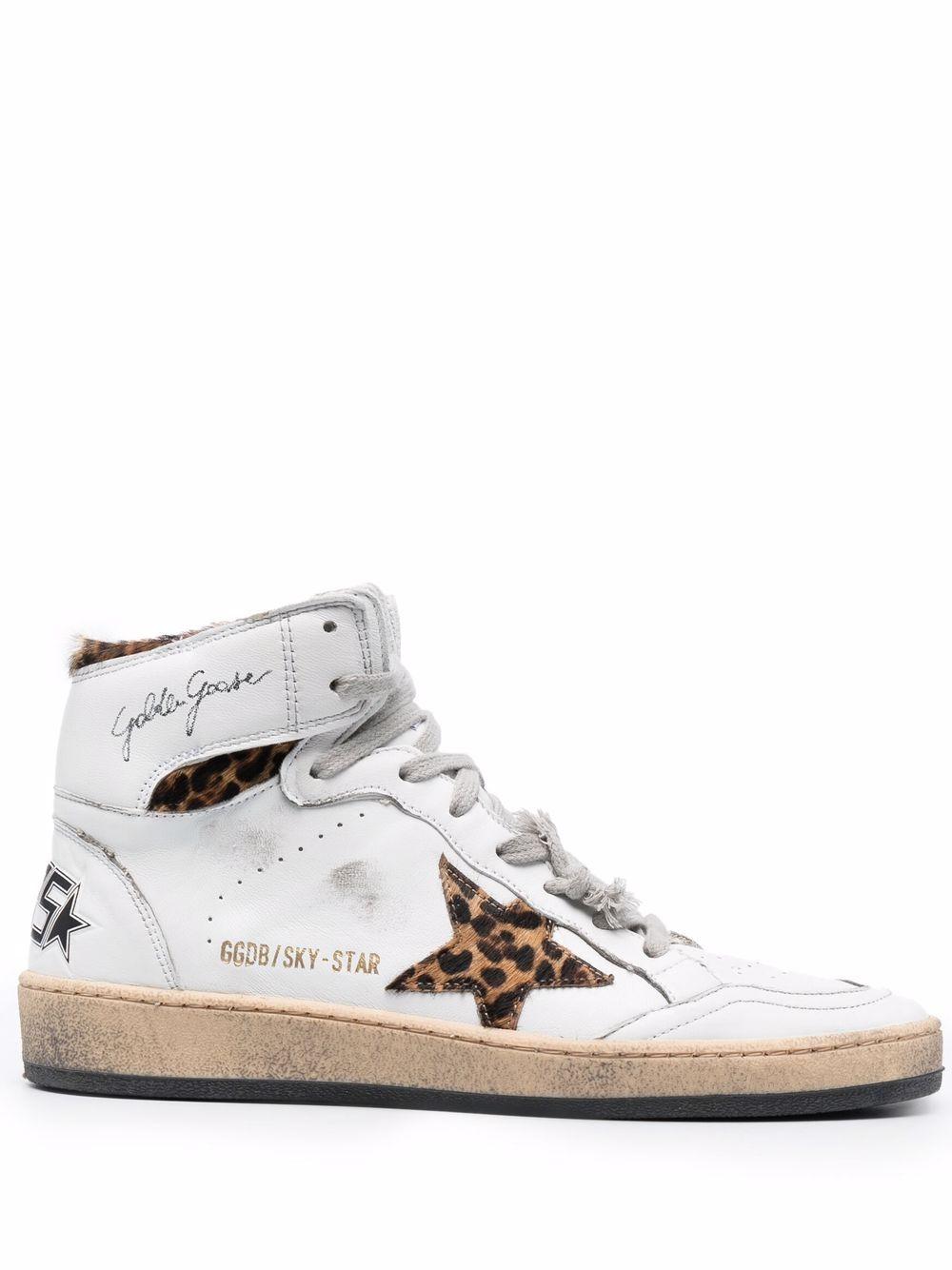 Picture of Golden Goose Deluxe Brand | Sky Star Sneakers