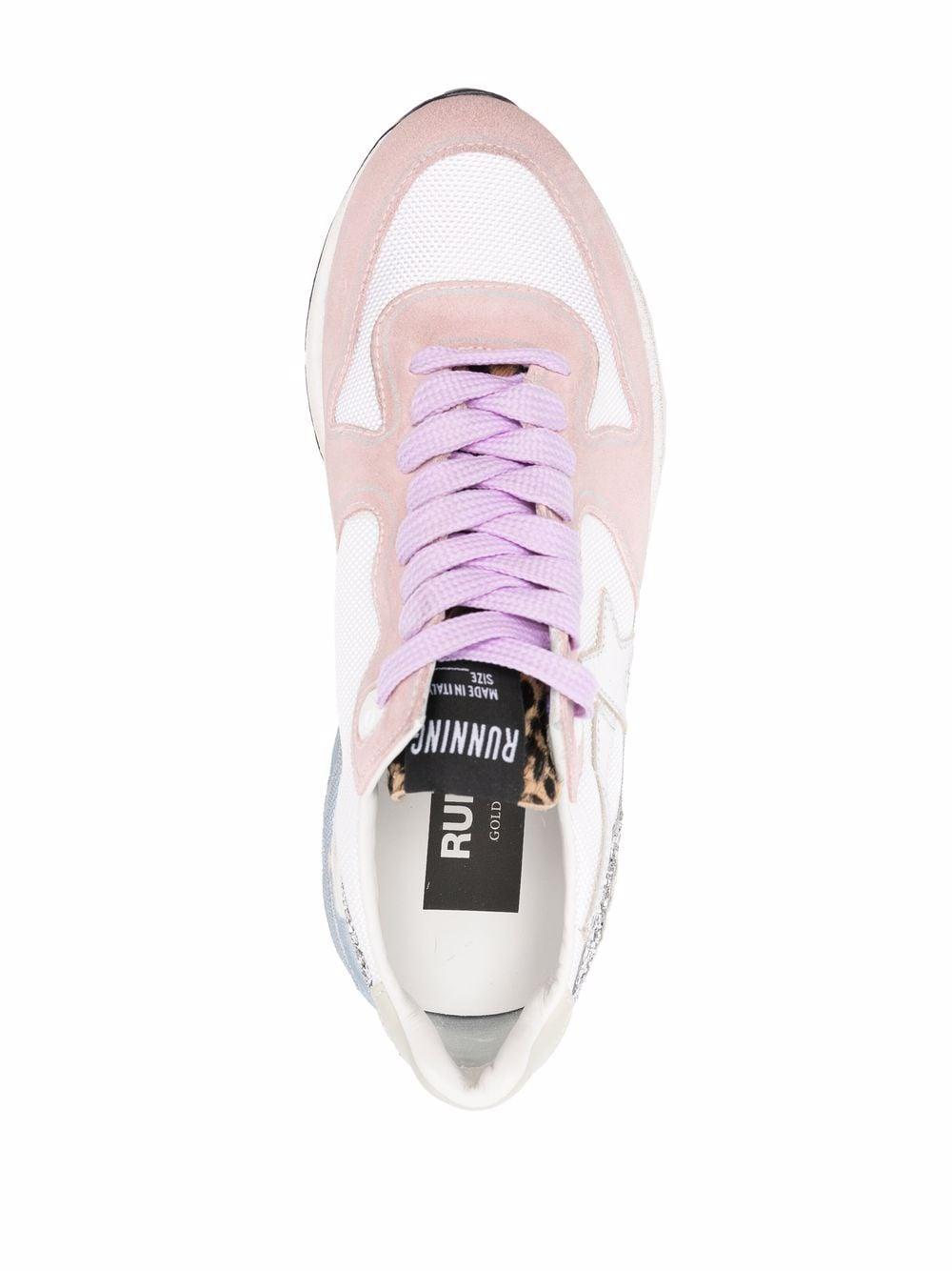Picture of Golden Goose Deluxe Brand   Running Sole Low-Top Sneakers