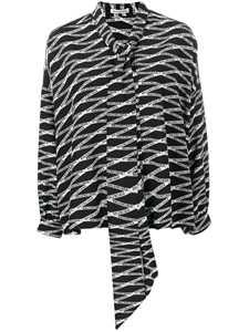 Picture of Balenciaga | Monogram Double Shirt