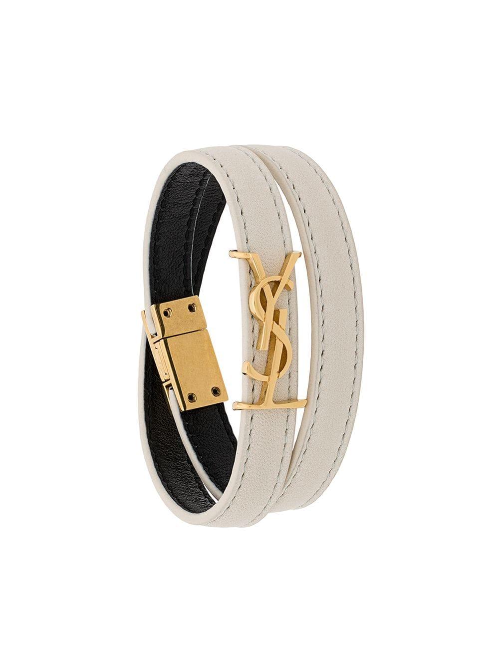 Picture of Saint Laurent   Opyum Double-Loop Bracelet