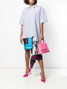 Picture of Balenciaga | Foulard Shirt Dress
