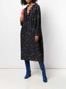 Picture of Balenciaga | Diagonal Logo Dress