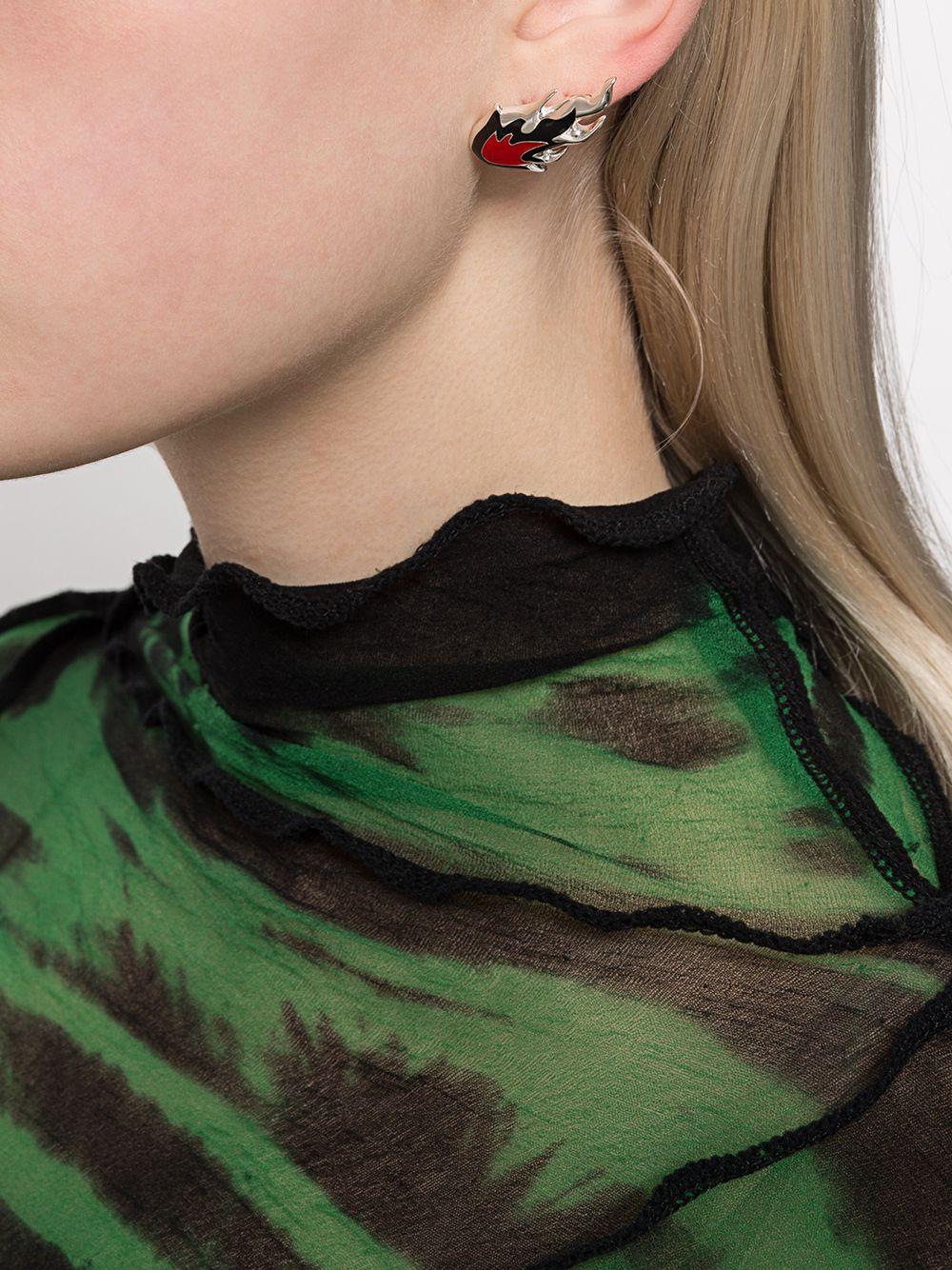 Picture of Ambush   Flame Stud Earrings