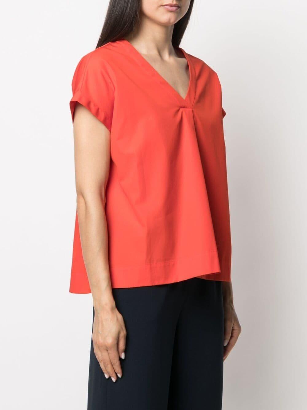 Picture of Aspesi   V-Neck Cotton T-Shirt