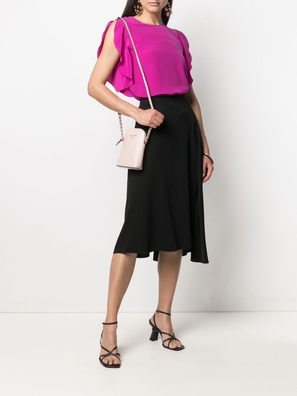 Picture of Aspesi | Drop-Hem Asymmetric Skirt
