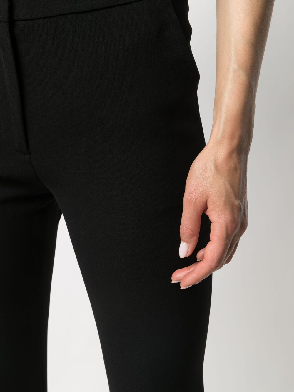 Picture of Aspesi | Mid-Rise Flared Trousers