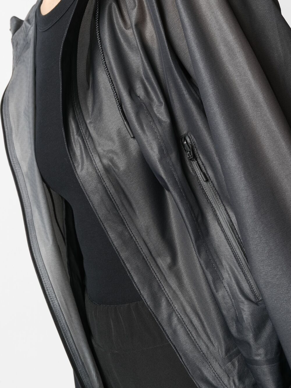 Picture of Adidas Y-3 | Tech Fabric Hooded Jacket