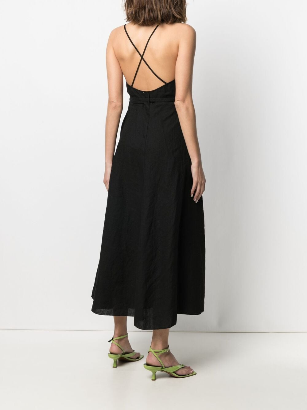 Picture of Forte_Forte | Bias-Cut Wrap Dress