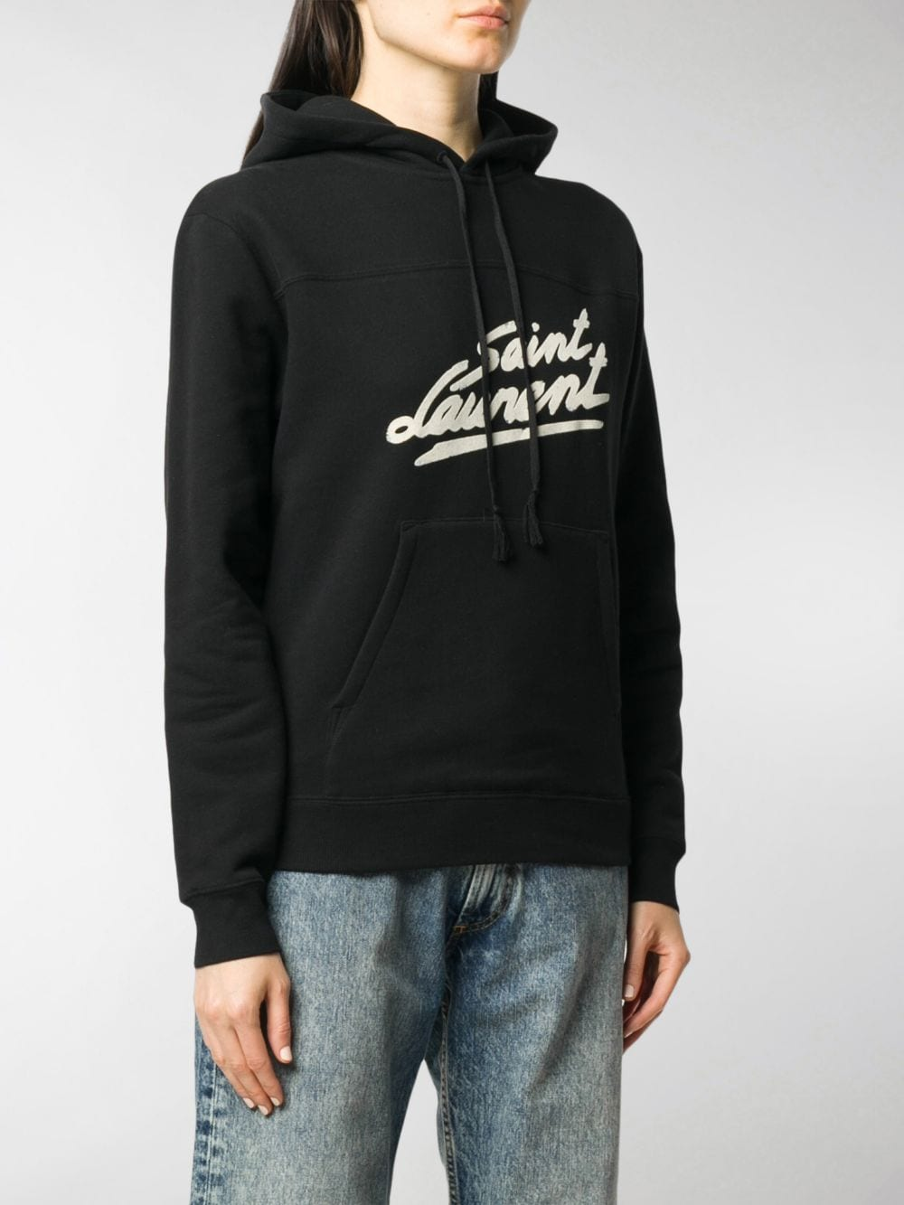 Picture of Saint Laurent | Fifties Signature Print Hoodie