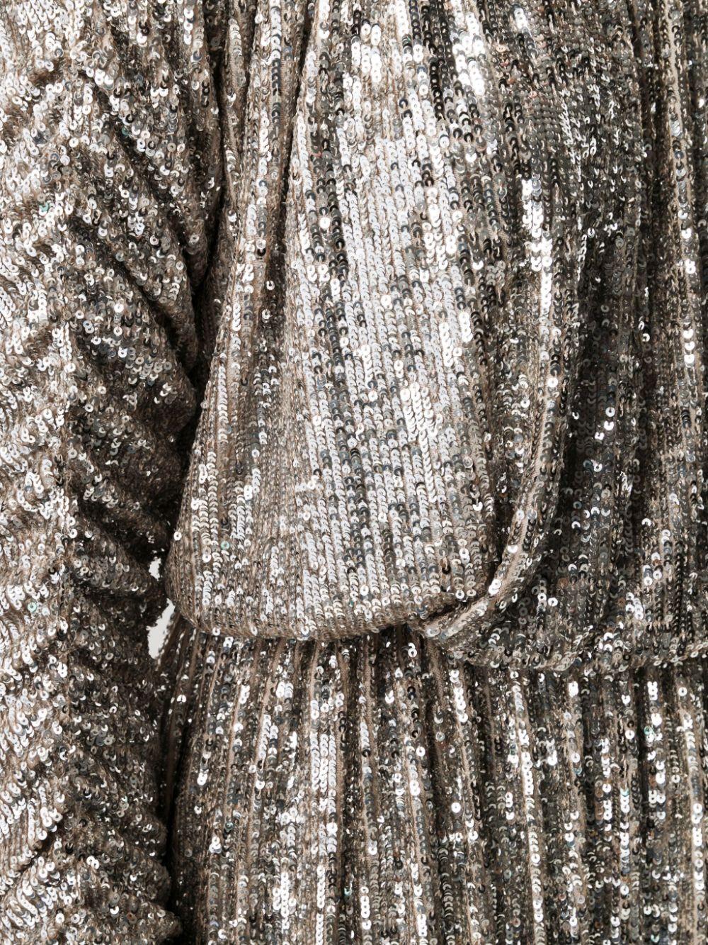 Picture of Saint Laurent   Sequin-Embellished Dress