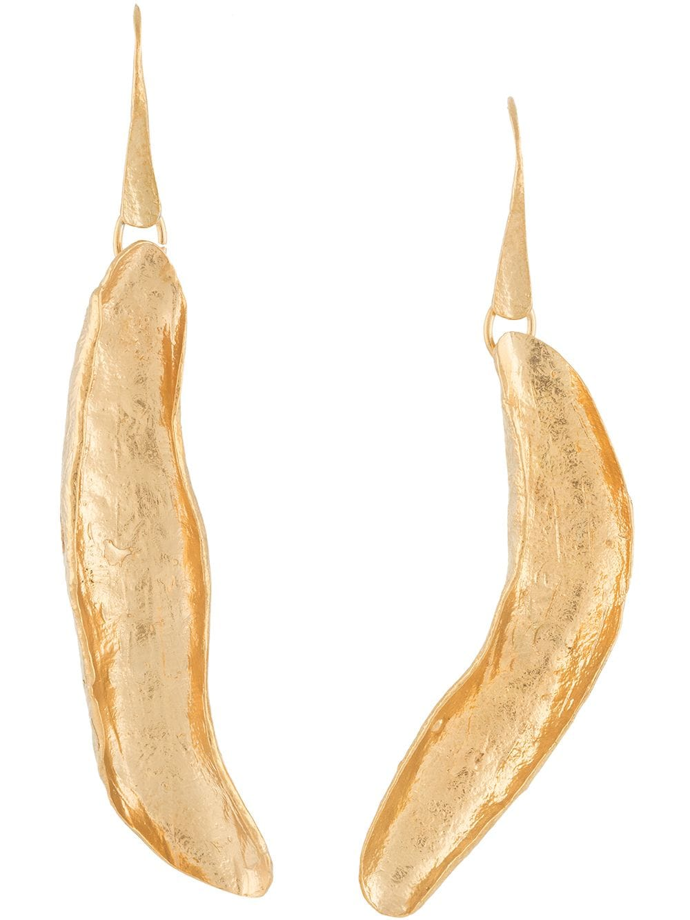 Picture of Forte_Forte | Leaf-Shaped Pendant Earrings