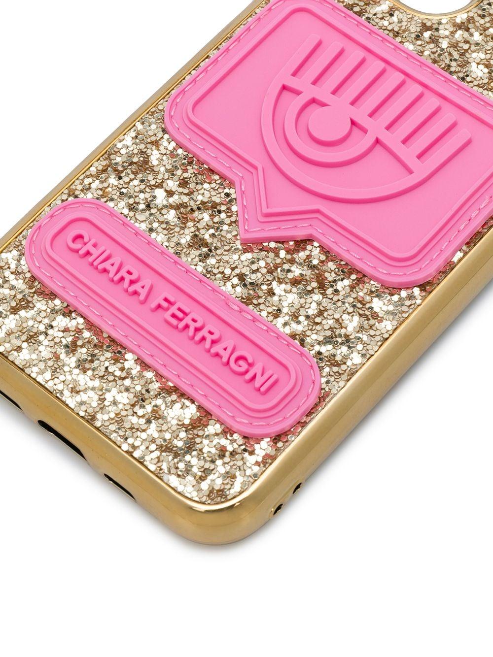 Picture of Chiara Ferragni | Eyelike Glittered Iphone 11 Pro Case