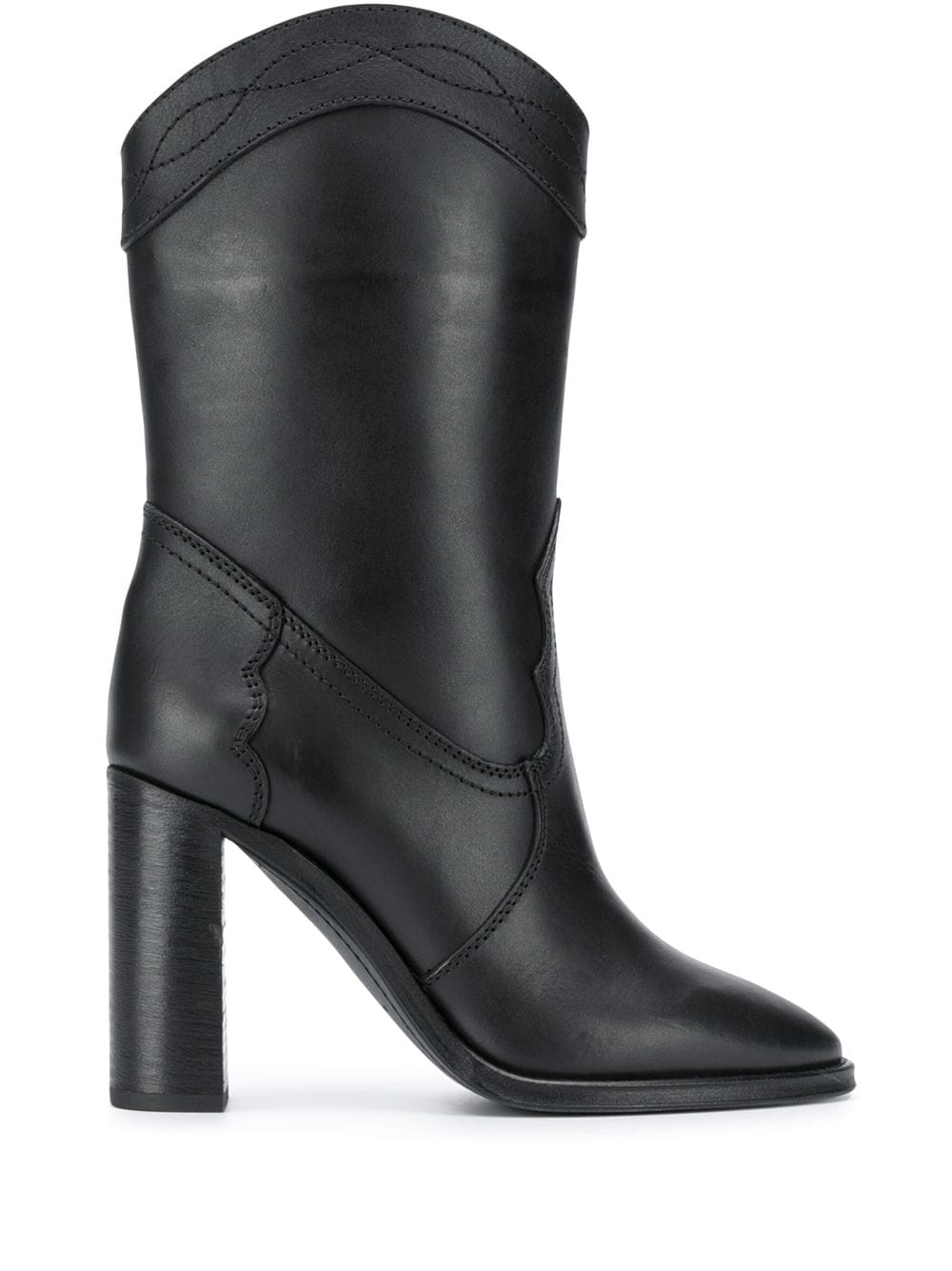 Picture of Saint Laurent | Kate 90Mm Booties