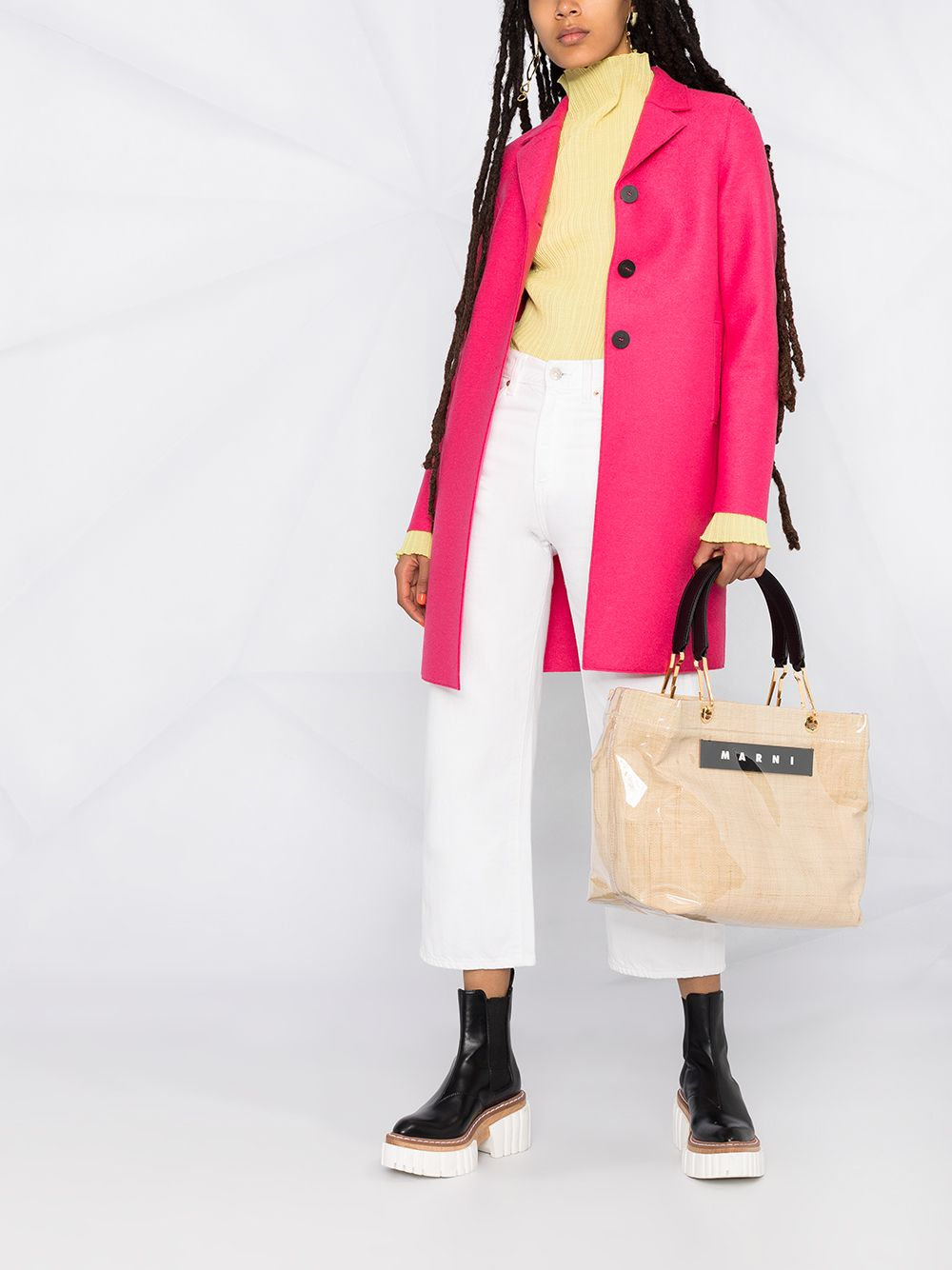 Picture of Harris Wharf London | Button Up Boxy