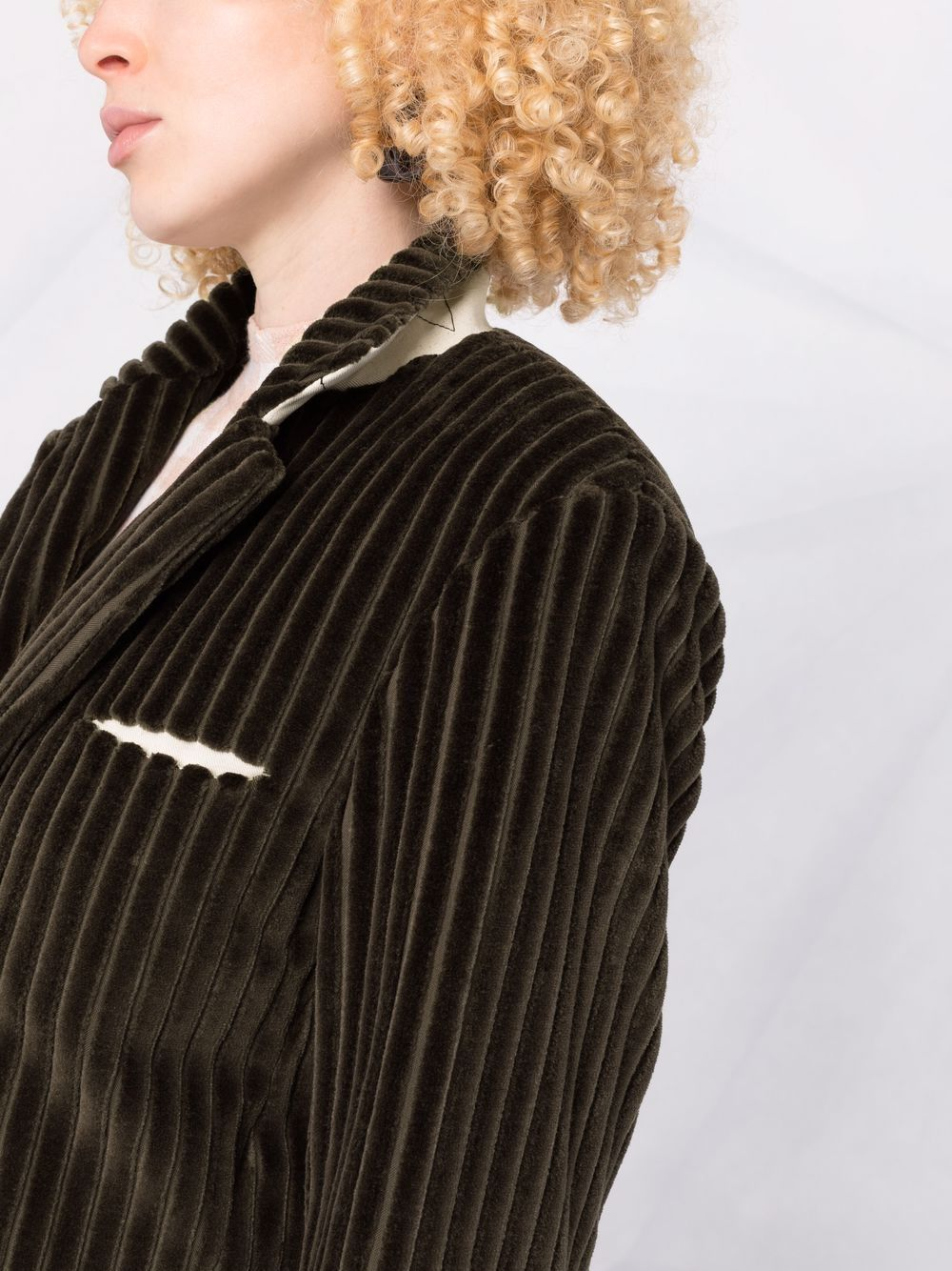 Picture of Jejia | Corduroy Single-Breasted Blazer