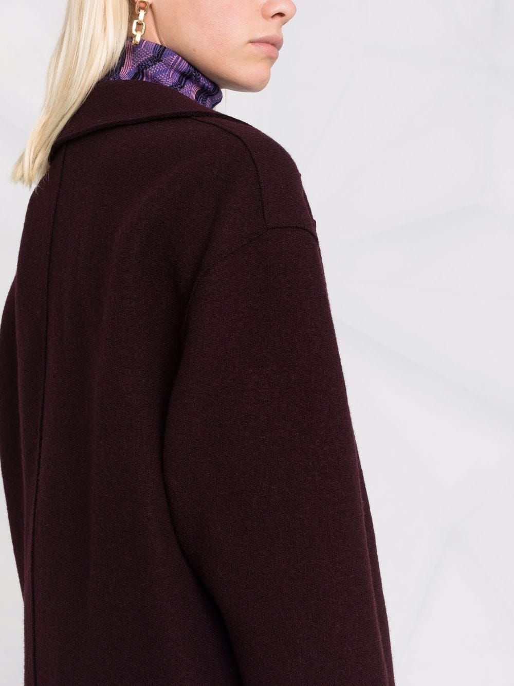 Picture of Harris Wharf London | Drop-Shoulder Double-Breasted Jacket