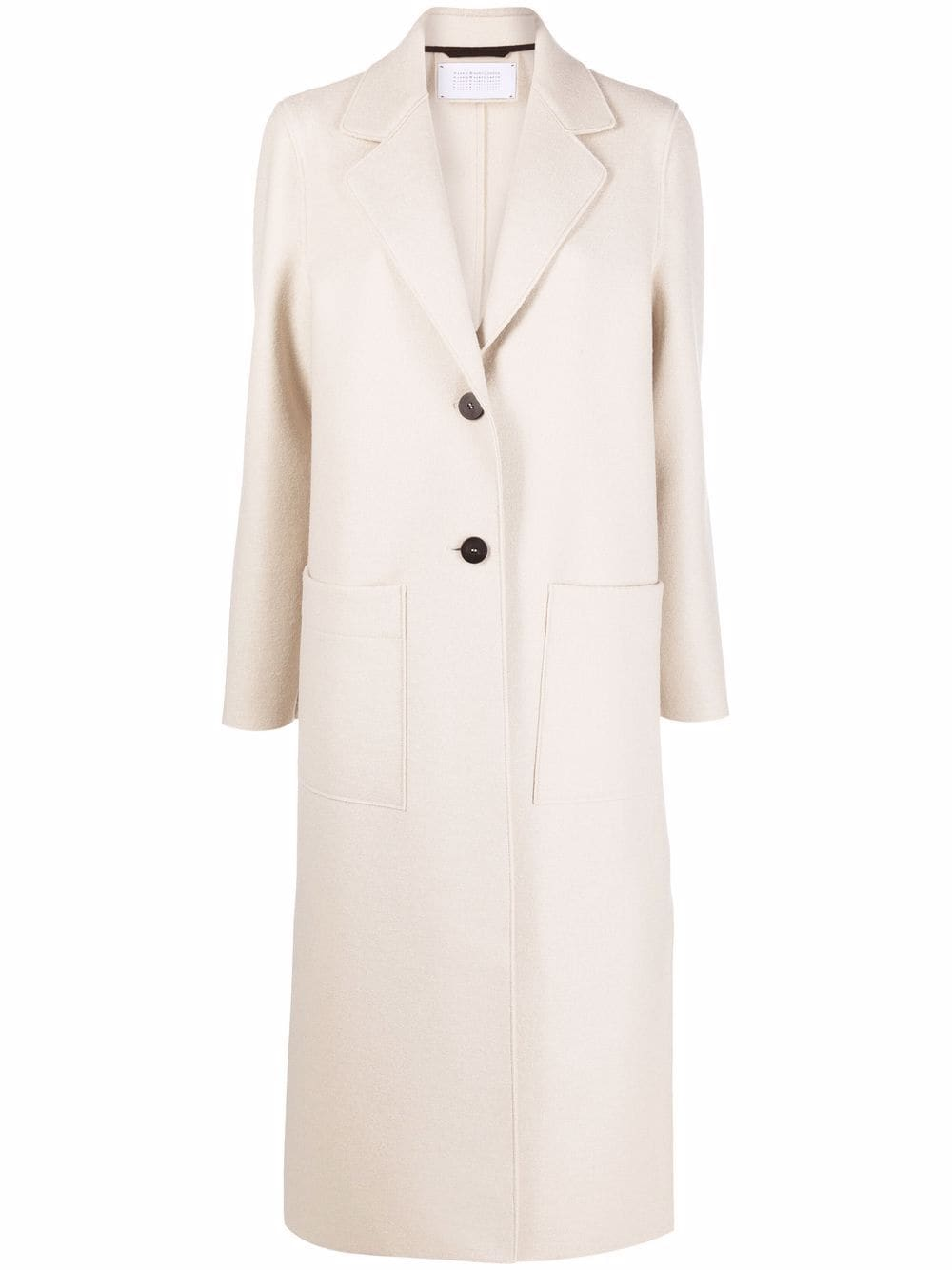 Picture of Harris Wharf London | Single-Breasted Virgin Wool-Felt Coat