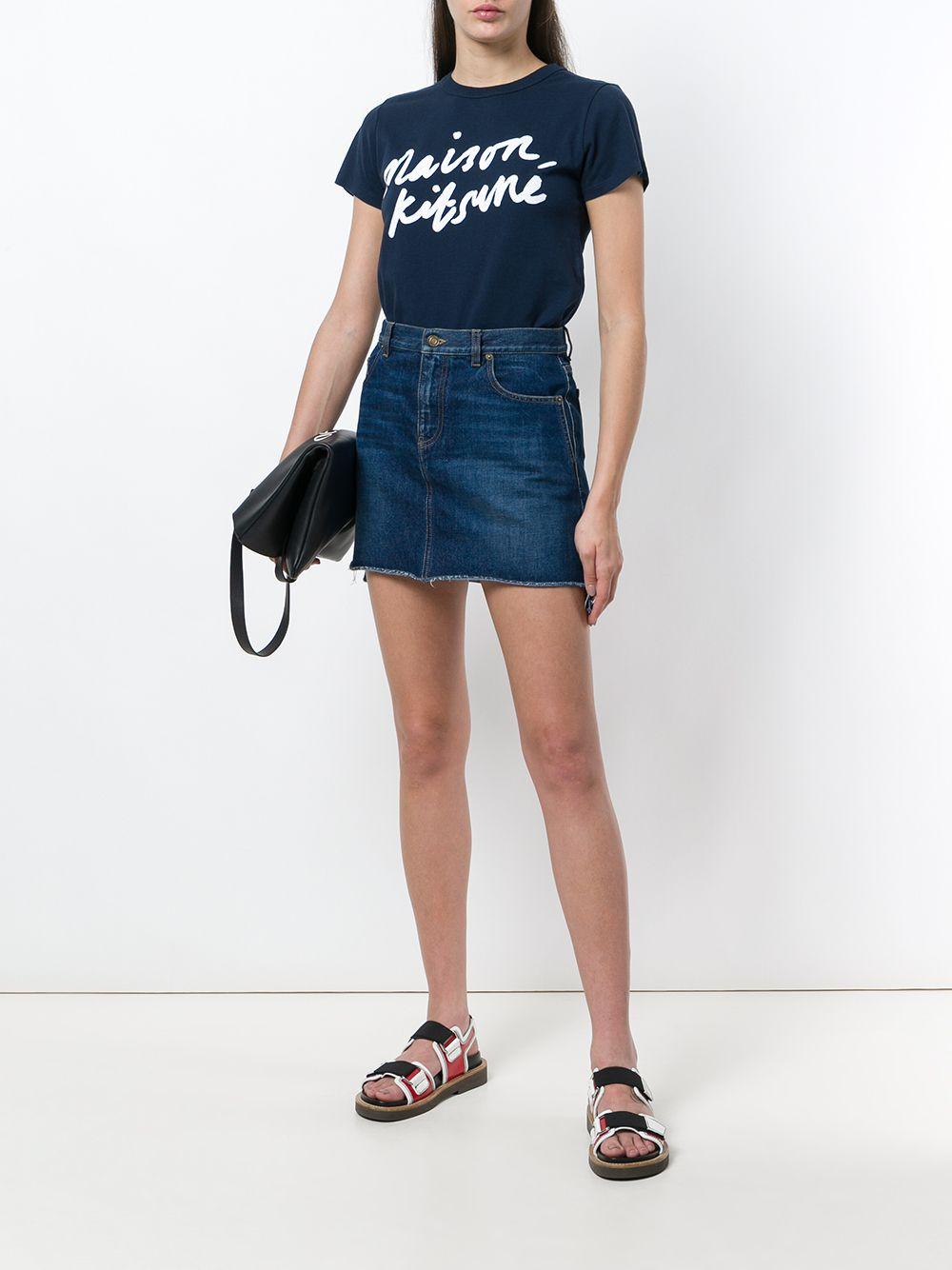 Picture of Maison Kitsune` | Logo Print T-Shirt