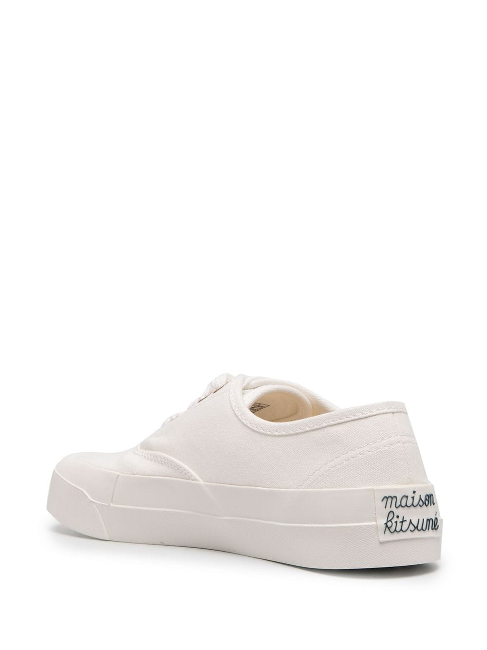 Picture of Maison Kitsune`   Low-Top Canvas Sneakers