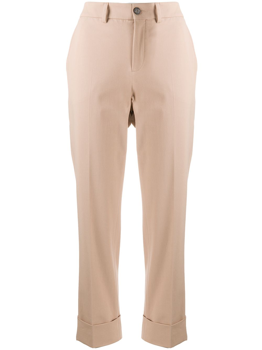 Picture of Incotex | Cropped Straight-Leg Trousers