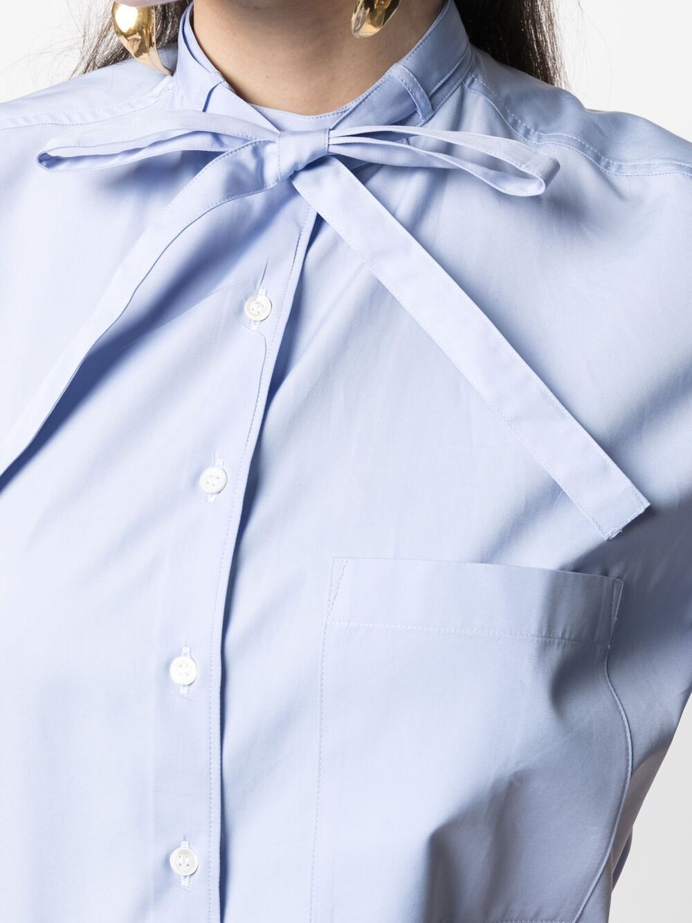 Picture of Aspesi   Shortsleeved Cotton Shirt