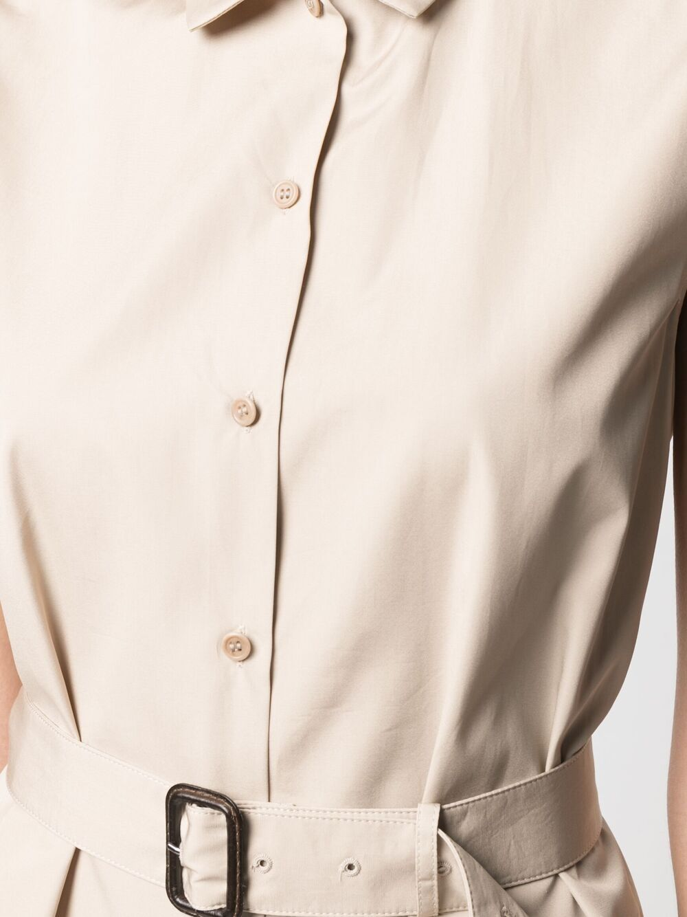 Picture of Aspesi   Belted Shirt Dress