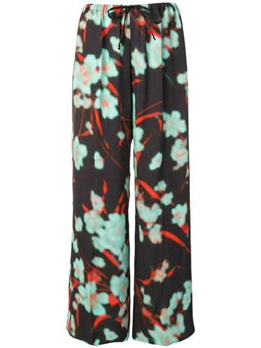 Picture of Dries Van Noten | Floral Print Trousers