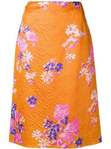 Picture of Dries Van Noten | Floral Print Skirt