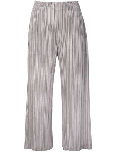 Picture of Issey Miyake Pleats Please | Flare Pleated Trousers