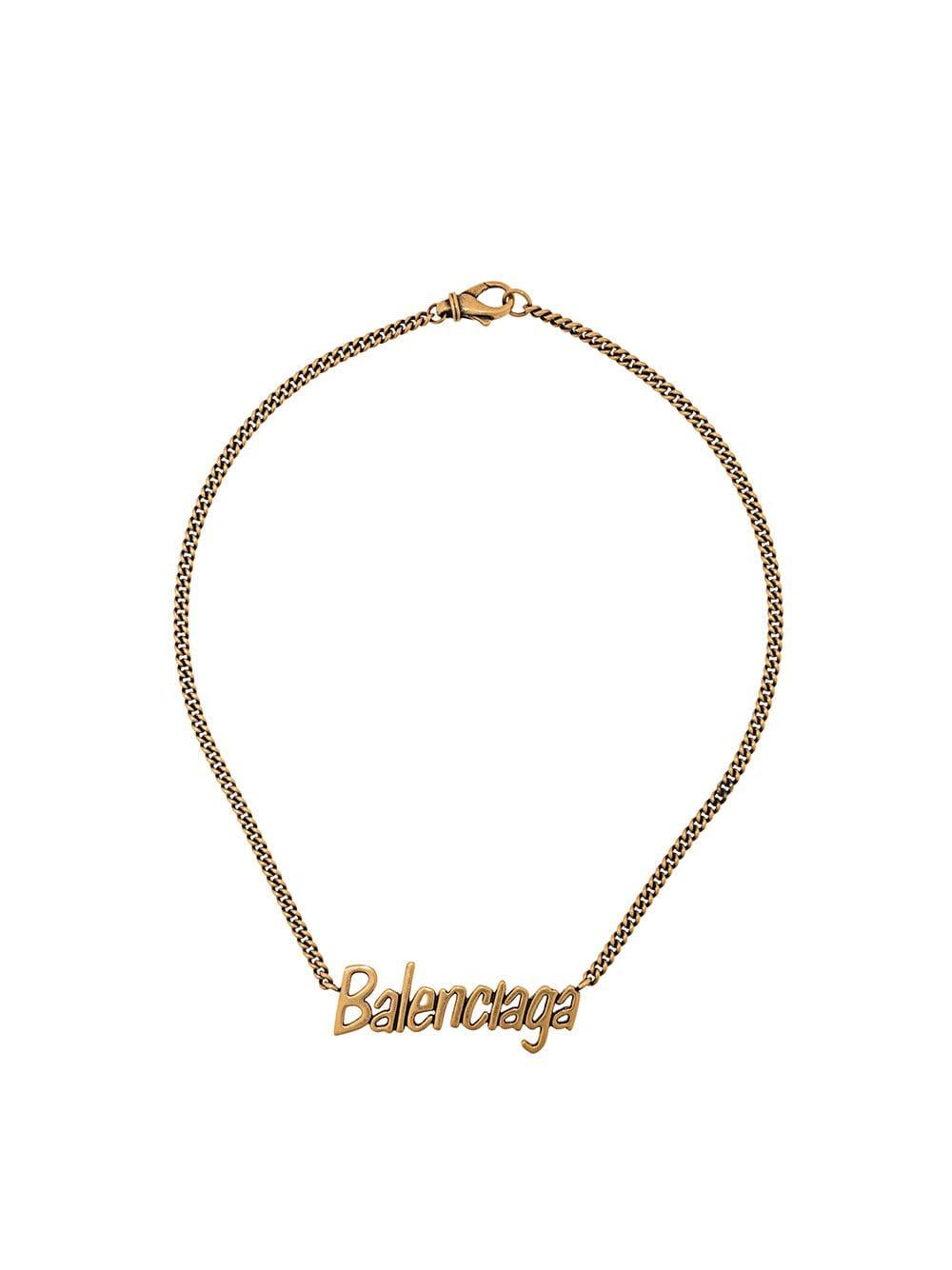 Picture of Balenciaga | Typo  Necklace