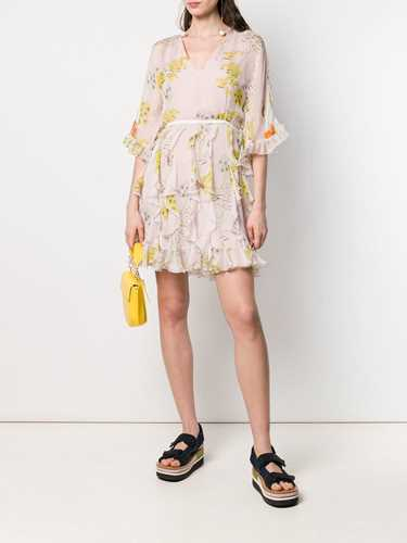 Picture of Giamba | Floral Print Dress