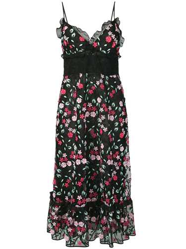 Picture of Giamba | Floral Embroidered Dress