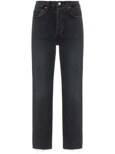 Picture of Re/Done | Stovepipe Raw Hem Jeans