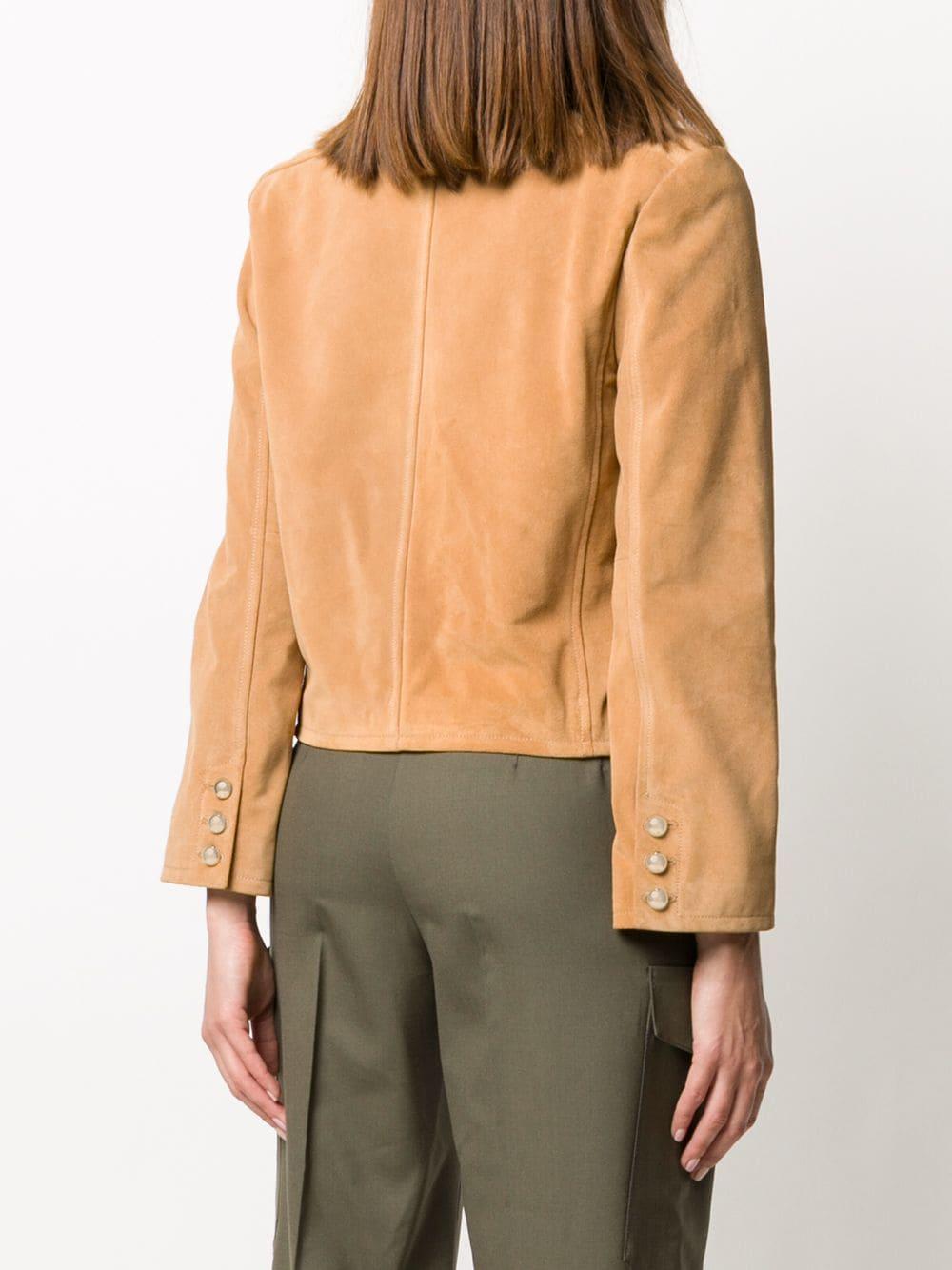 Picture of A.P.C.   Notched-Lapel Button-Through Jacket